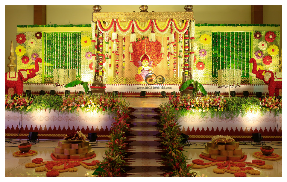 Dhoti Ceremony Decoration
