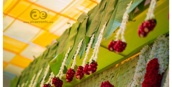 Traditional andhra style engagement by aicaevents