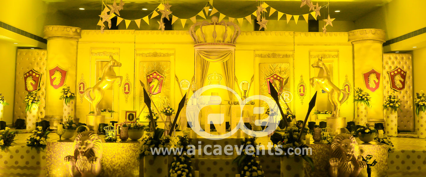 Golden Royal KingdomTheme decor