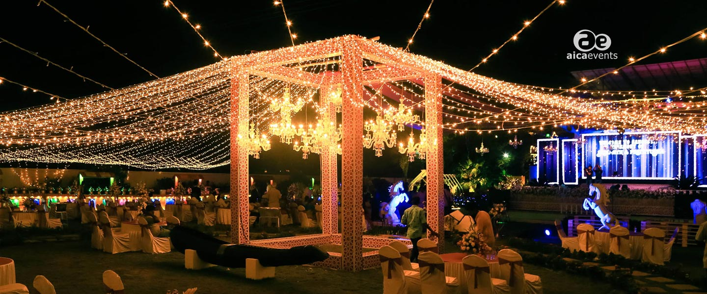 Sangeet Outdoor Decoration