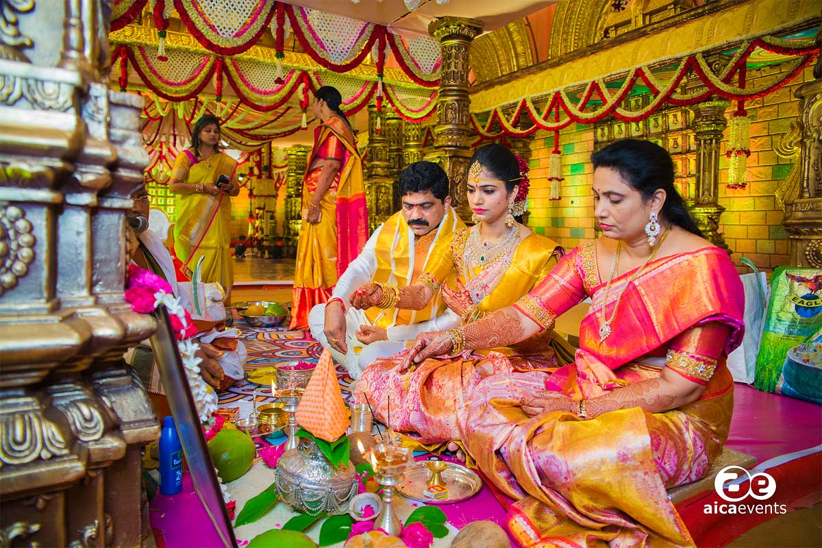 wedding-bride-puja